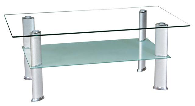 Steklena klubska mizica
