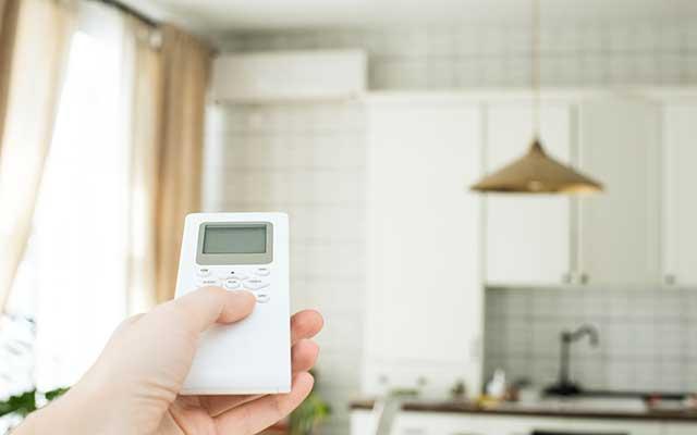 Izbira temperature na klimatski napravi